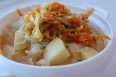 Вариант вегетарианского кукси с капустой - IMG_9211.JPG