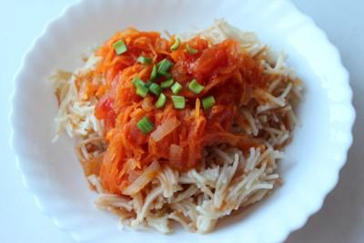 Тушеная вермишель паутинка томатный соус с гвоздикой - IMG_9610.JPG
