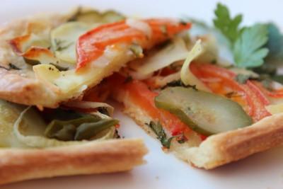 Пицца постная или сырная на пресном тесте - IMG_9074.JPG