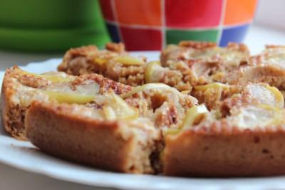 Постный яблочный пирог по типу шарлотки - IMG_8962.JPG
