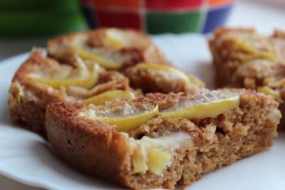 Постный яблочный пирог по типу шарлотки - IMG_8961.JPG