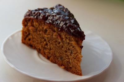 Постный яблочный пирог по типу шарлотки - IMG_9631.JPG