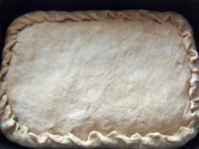 Овощной пирог на рассольном тесте - пирог.JPG