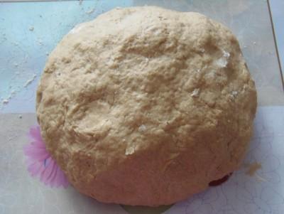 Овощной пирог на рассольном тесте - тесто.JPG
