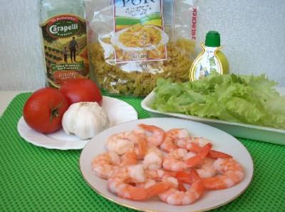 Макароны с креветками или праздник спагетти - DSCN4923.JPG
