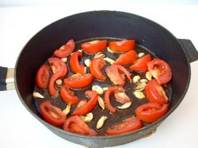 Макароны с креветками или праздник спагетти - DSCN4937.JPG