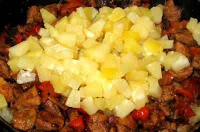 Свинина с ананасом в кисло-сладком соусе - 007_Svinina_v_kislo-sladkom_souse.JPG
