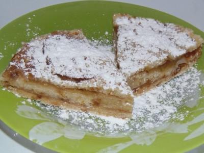 Постный пирог с яблоками - яблочный пирог.JPG