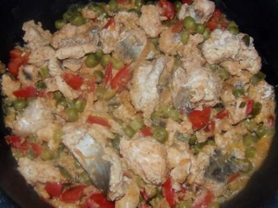 Фоторецепт: рыба с овощами - 1.JPG
