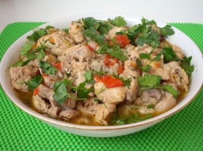 Чахохбили - блюдо грузинской кухни - DSCN4805.JPG