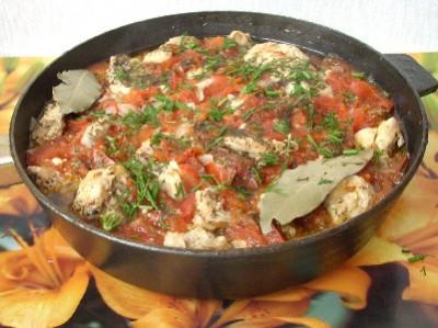 Чахохбили - блюдо грузинской кухни - DSCN4799.JPG