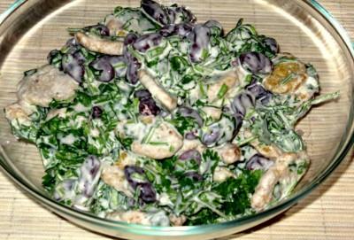 Салат с кинзой, красной фасолью и кириешками - 00_Salat_s_kinzoj_i_krasnoj_fasolju.JPG