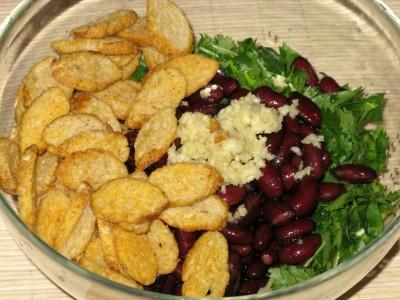 Салат с кинзой, красной фасолью и кириешками - 01_Salat_s_kinzoj_i_krasnoj_fasolju.JPG