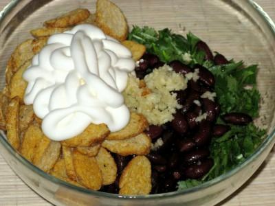 Салат с кинзой, красной фасолью и кириешками - 02_Salat_s_kinzoj_i_krasnoj_fasolju.JPG
