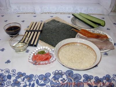 Ингредиенты для приготовления суши - 01 Суши.JPG