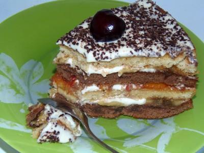 Торт без выпечки - тортик без выпечки.JPG