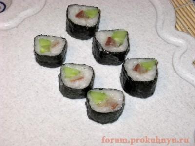 Рецепты приготовления суши в домашних условиях - 18 Суши.JPG