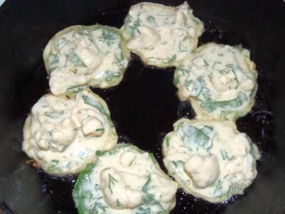 Рецепты блюд из цветной капусты - оладьи из цветной капусты (4).JPG