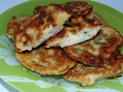Рецепты блюд из цветной капусты - оладьи из цветной капусты.JPG