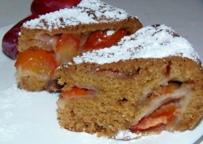 Быстрый пирог на рассоле - Сливовый пирог на рассоле.JPG