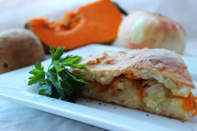 Овощной пирог на рассольном тесте - IMG_6450.JPG