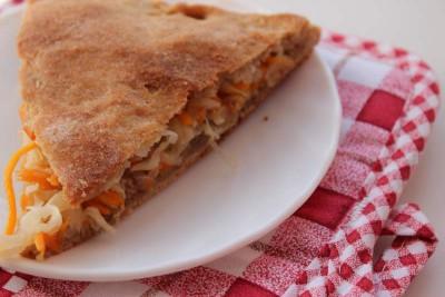 Овощной пирог на рассольном тесте - IMG_8489.JPG