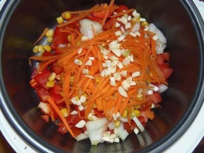 Овощной суп с зеленой чечевицей - PB120075.JPG