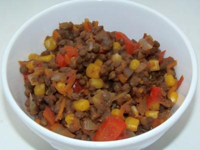 Овощной суп с зеленой чечевицей - PB120112.JPG