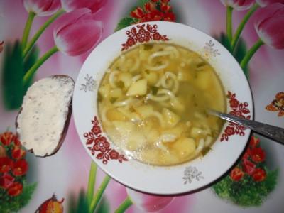 Самый вкусный и простой в приготовлении суп. Рецепты - суп в белой тарелке.jpg