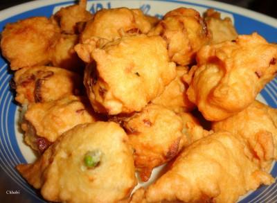 Питха - традиционное блюдо Бангладеш и Западной Индии - питха с чили.JPG