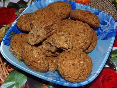 Овсяное печенье без сахара - P1120056.JPG