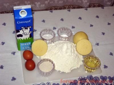 Сырные лепёшки ленивое хачапури  - 01 Сырные лепешки.JPG