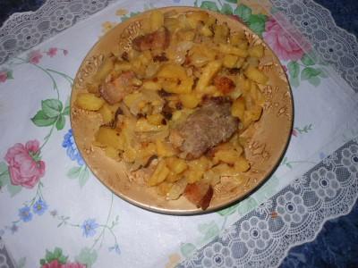 Любимые рецепты приготовления жареной картошки - готовая жаренная картошка.jpg