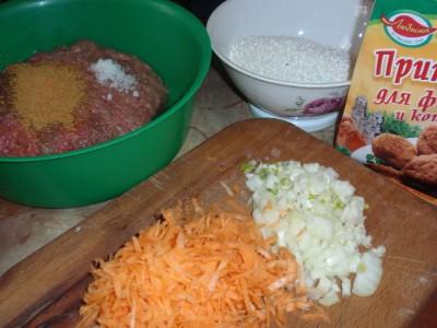 Рецепт ёжиков тефтелек с рисом  - Рецепт ёжиков (тефтелек с рисом) 1.jpg