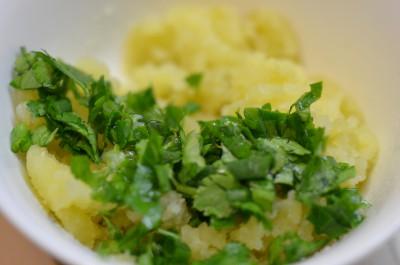 Алю паратха - картофельная лепешка - DSC_0179.JPG