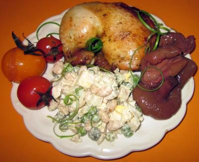 Курица в рукаве, приготовленная в СВЧ - IMG_6872.JPG