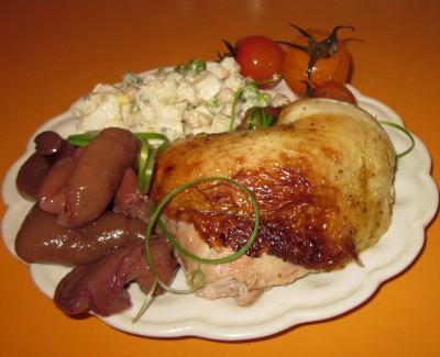 Курица в рукаве, приготовленная в СВЧ - IMG_6875.JPG