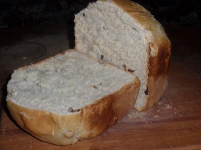 Рецепты хлеба для хлебопечек - Горчично медовый хлеб с изюмом 3.jpg