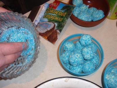 Сырные шарики Бирюза  - Сырные шарики Бирюза 4.jpg