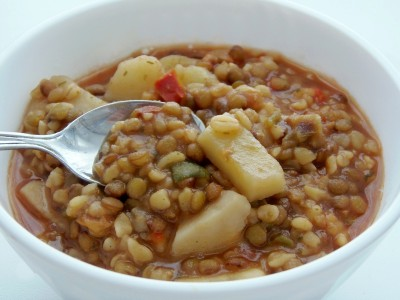 Суп с чечевицей и булгуром - 1.JPG