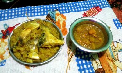 блюда к рису: рыба и криветки - обед.jpg
