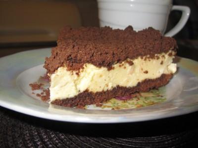 Банановый чизкейк в шоколадной крошке - IMG_4492.JPG