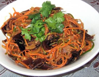 Грибной салат с зеленью - IMG_0194.JPG