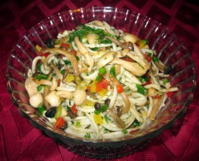 Грибной салат с зеленью - IMG_2108.JPG