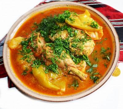 Арабский суп-соус Таббиха  - DSC_0014.JPG