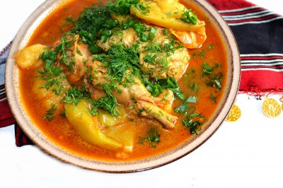 Арабский суп-соус Таббиха  - DSC_0015.JPG