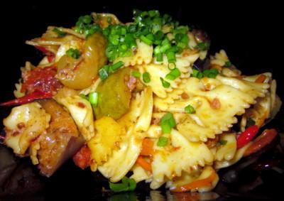 Блюдо из макарон с запеченными овощами - IMG_8912.JPG