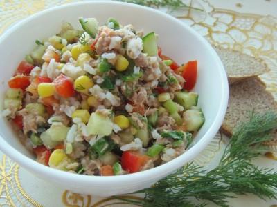 Салат с тунцом - P6130065.JPG