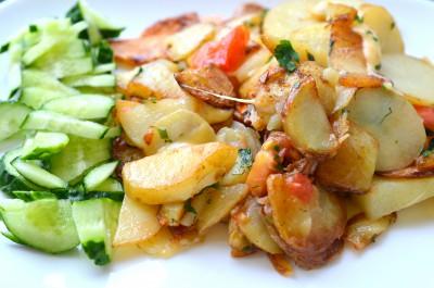 Любимые рецепты приготовления жареной картошки - DSC_0014.JPG