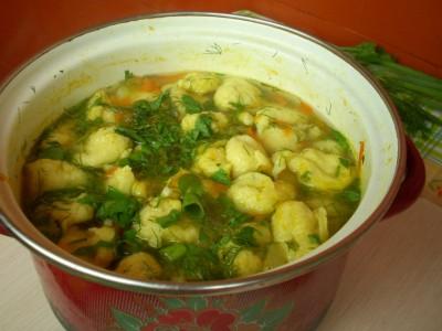 Суп с клёцками - DSCN8395.JPG
